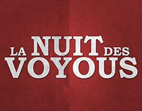 LA NUIT DES VOYOUS / poster presentation