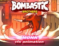 BOSS ''MONK'' VFX ANIMATION