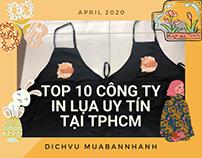 Top 10 công ty in lụa uy tín tại TPHCM