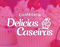 Logo - Confeitaria Delícias Caseiras