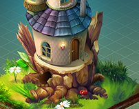 Fairy house- Сoncept Art