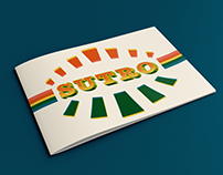 Sutro Typographic Showcase Booklet