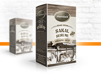 Beard Serum Package Design