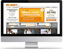 Web Design: 321meet.com