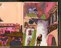 Pskov sketchbook