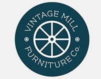 Vintage Mill Furniture Co. Logo