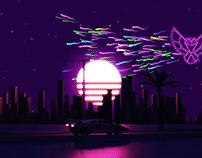 Delirium Synthwave Video