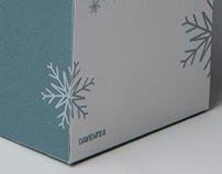 Wintermint Tea Packaging