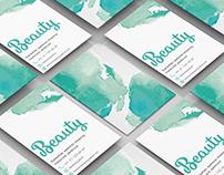 Projet Business Card salon de beauté