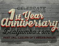 Dealjumbo celebrates 1st birthday! Giveaway!