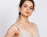 Kangana for SHYAMAL & BHUMIKA at LFWSR18