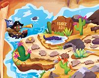 Ozmo Board Game Illustration