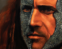 Braveheart: William Wallace Oil Painting