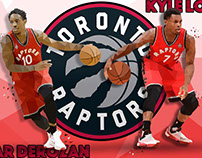 Toronto Raptors Low Poly