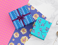 Floral Pattern Design - Product Mockup
