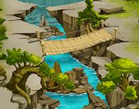 Forbidden Forest - game maps - wallpaper