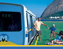 Campanha Metro Rio: De Domingo a Domingo