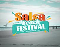 Blankenberge Salsa Beach Festival - logo concept