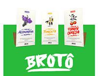 Brotô - Embalagens compostáveis para mudas