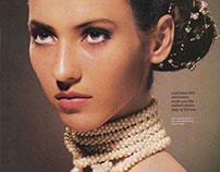 BEAUTY EDITORIALS: EARLY WORK