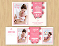 Mother's Day Mini Sessions Template   Facebook Cover Te