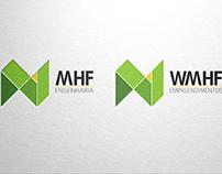 Identidade Visual MHF Engenharia/ WMHF Empreendimentos