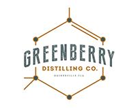 Greenberry Distilling Co. Logo Design