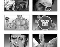 Storyboards: NIVEA for men