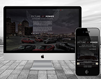 Dodge | Picture of Power | Website Concept