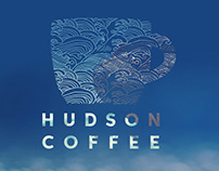 Hudson Coffee Logo Design