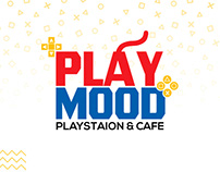 PlayMood Identity | Playstation Cafe | ElMahallah