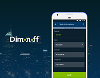 DimOnOff Application