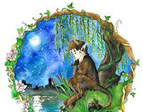 Illustration for Marko Vovchok's fairytale