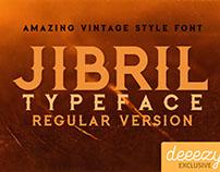 Jibril Regular - Free Font