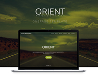 Orient | One Page Template