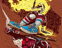Ghost Rider Downhill Skater