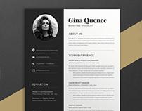 Resume Gina