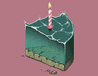 A piece of sea cake
