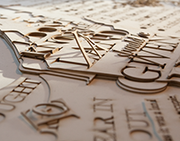 Conceptual Explorations In Physical Typography (Part 1)