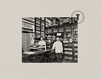 El Tropezón™ 1896. Restaurant Branding.