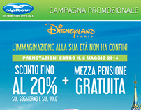 Alpitour: campagna promozionale Disney