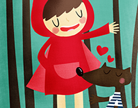 The Wolf loves Little Red Riding Hood