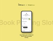 Parking app UIUX Design
