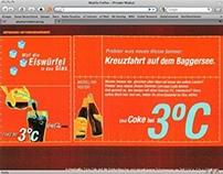 Coca-Cola. Online promotion 2000.