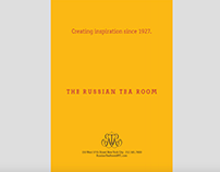 Print Ad: The Russian Tea Room (NYC)