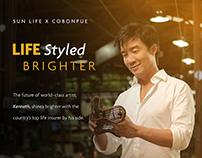 Sun Life x Cobonpue Life Styled Brighter
