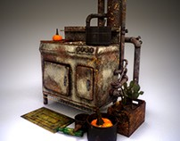 Kitchen stove (Fallout 4)