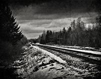 Neige sur Chemin de Fer / Snowy Tracks
