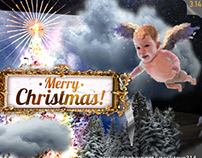 Christmas e-Card (After Effects Xmas project)