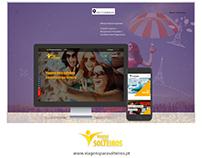 Website Viagens para Solteiros
